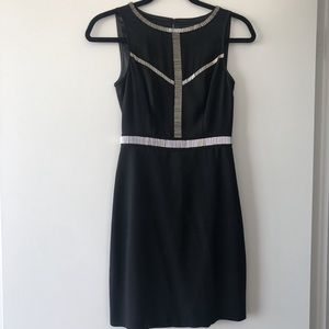 Black Marciano Cocktail Dress